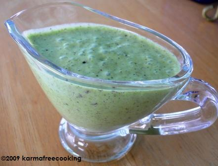 Green Godess Dressing
