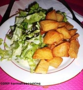 fondue - pommes terre