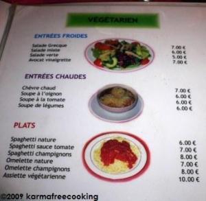 menu fondue 2