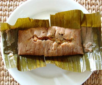 Pasteles In Banana Leaves Karmafree Cooking