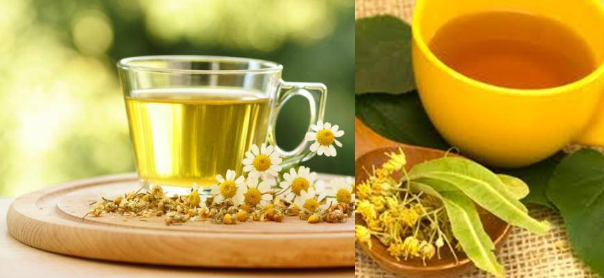 Home Remedies Chamomile And Linden Tea To Help You Sleep
