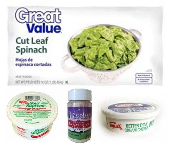 Easy No Cook Spinach Dip Karmafree Cooking