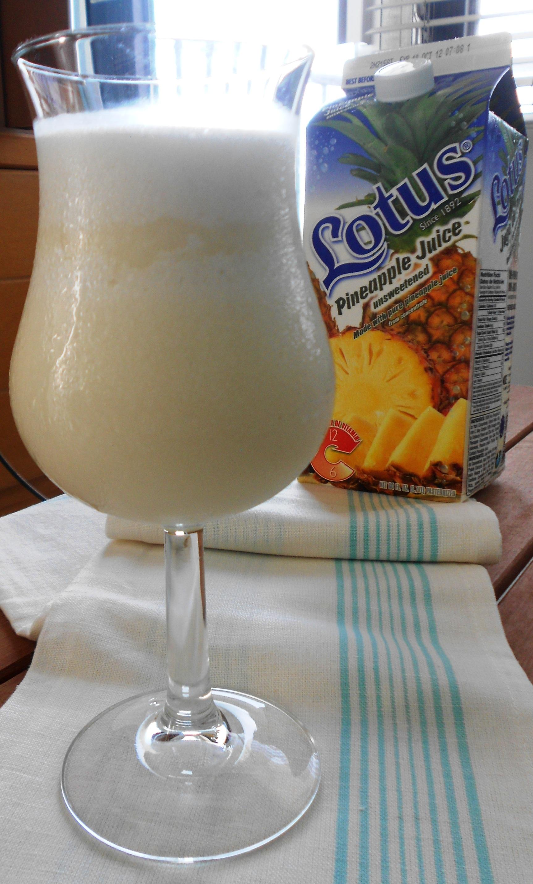 Piña Colada La Bebida Nacional De Puerto Rico Karmafree Cooking