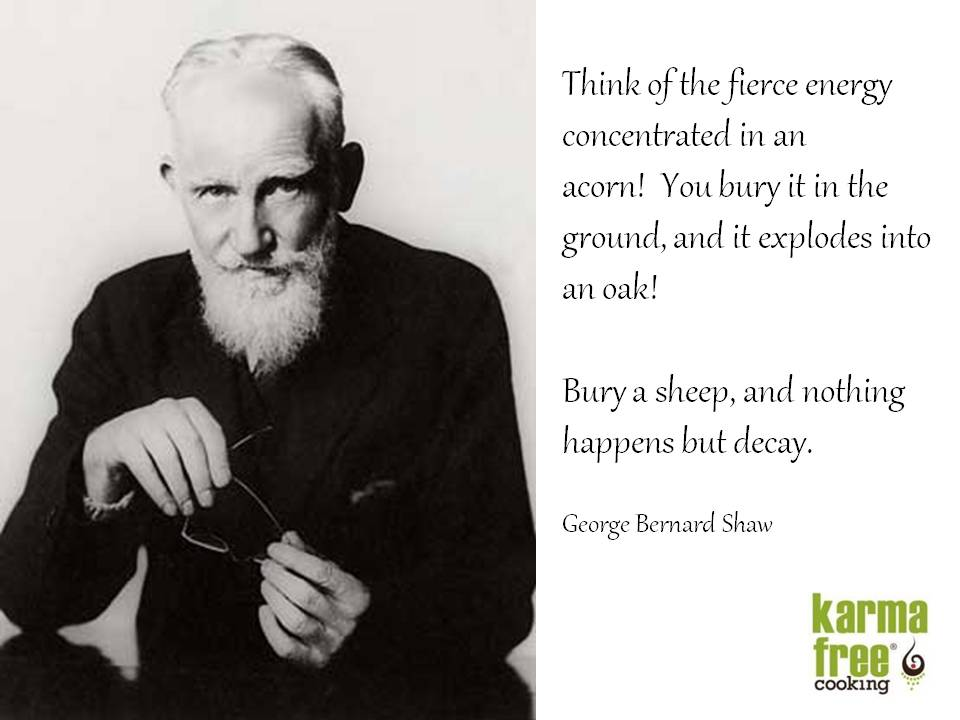 Image gallery for : george bernard shaw vegetarian quotes