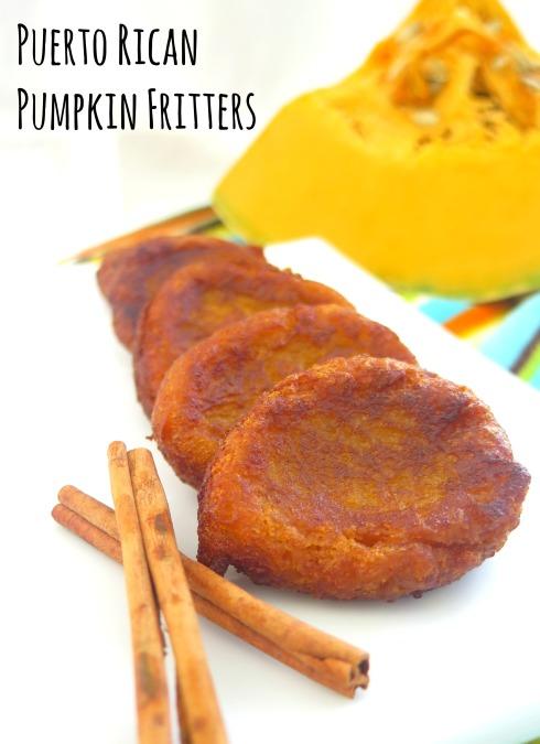 Puerto Rican Pumpkin Fritters