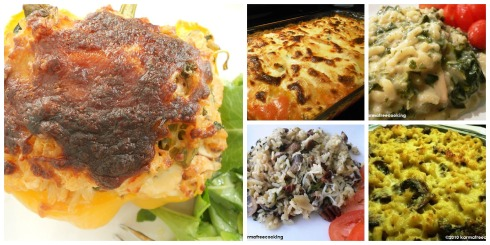 Main Courses Collage
