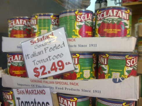 Sclafani Tomatoes @ The Boys