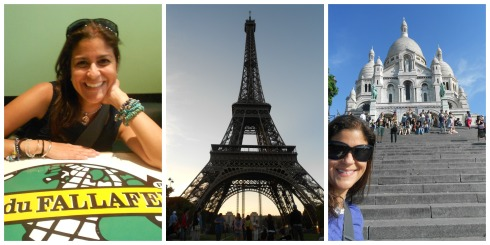 Paris Trip Collage
