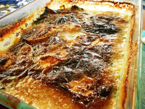 Spinach Scalloped POtatoes