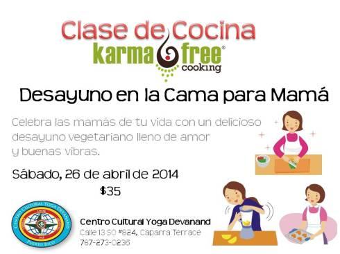 KarmaFree Cooking's Vegetarian Class