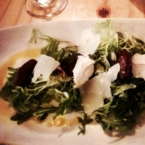 Cocina Abierta - Vegetarian Menu Salad