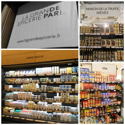 La Grande Epicerie Collage