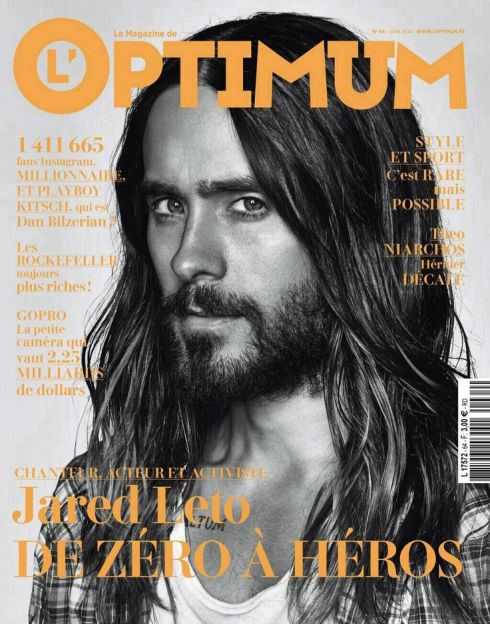 Jared Leto - Cover Photo