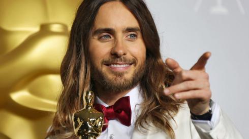 Jared Leto - 2014 Academy Awards