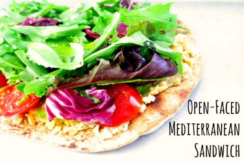 Open-Faced Med Sandwich
