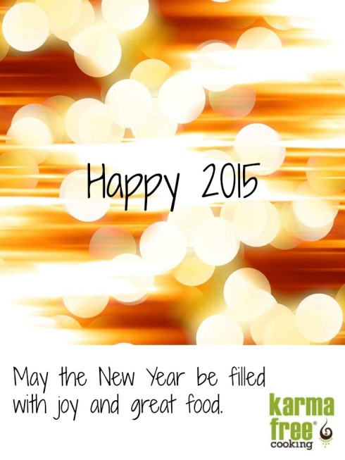 Welcome 2015 from KarmaFree Cooking