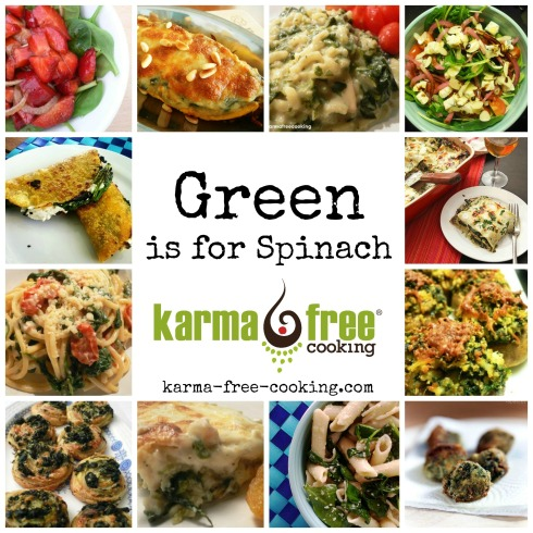 Spinach Recipes Collage 2015 - ENG