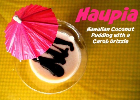 Coconut Custard Dessert from Hawaii