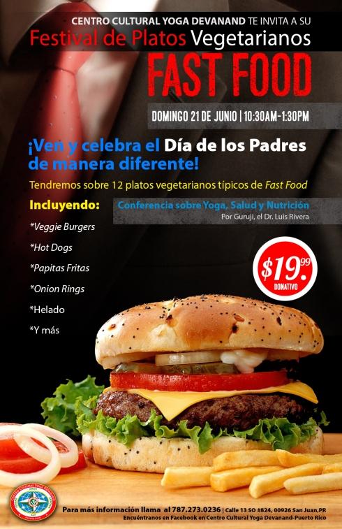 Vegetarian Fast Food Festival