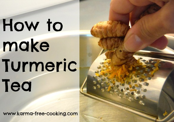 Turmeric Tea for Inflammation