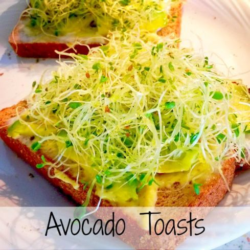 Avocado Toasts - KFC