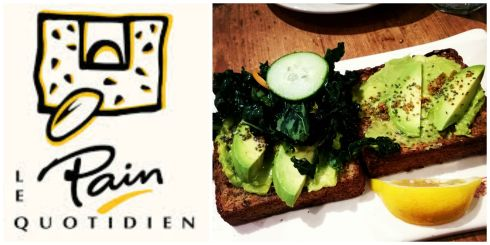Le Pain Quotidien - Avocado Toasts