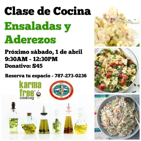 Clase Cocina Ensaladas 3A